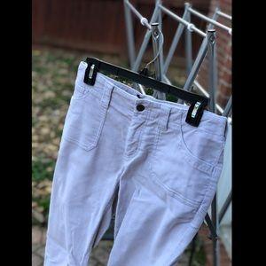 Bootcut Light Tan Corduroy Pants